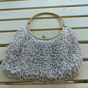 Vintage Beaded Evening/Wedding Hand Bag -Hand Made